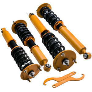 Coilovers Suspension Kit For Lexus Ls400 Xf10 1990 1994 Coil Spring Struts Gold