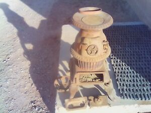 Antique Pot Belly Stove King Stove And Range Sheffield Ala S 300 Wood Coal