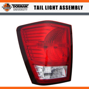 1 Pc Left Tail Light Assembly Dorman For 2007 2009 Jeep Grand Cherokee