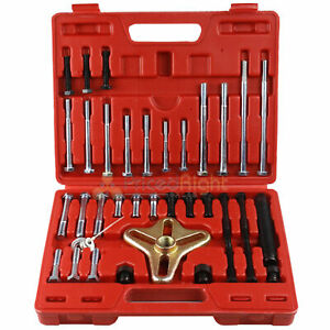46 Pc Harmonic Balancer Puller Set With Blow Mold Storage Case Grip Tools 21420