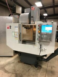 Haas Super Mini Mill 2 Vertical Milling Cnc Machine With High Speed Tool Changer