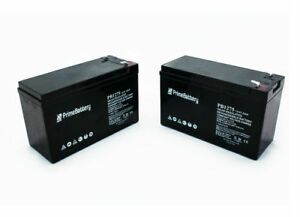 12v 7 5 Ah Battery 2 Pack Dual lite 12 621 12 803 0120803 Hubbell Replacement