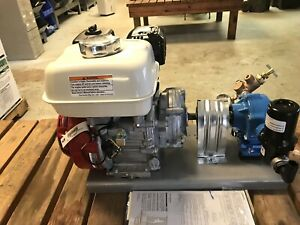 Honda 160 W Hypro 7560c Pump plate Only With Attachments