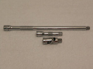 Matco Silver Eagle Tools 10 3 Extensions 3 8 X 3 8 Male Universal Joint