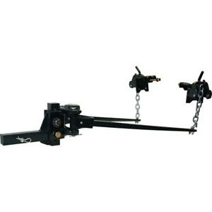 10k Trunion Weight Distribution Equalizer Sway Control Trailer Towing Hitch Bar