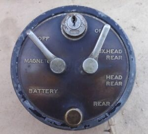Vintage 1916 1920 s Delco Ignition Light Switch Original 1129 Packard Buick 8