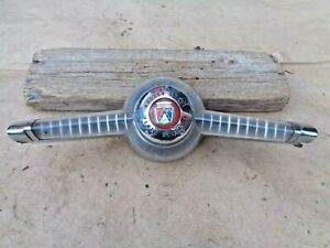 1955 Ford Master Guide Power Steering Horn Button Emblem Original Thunderbird