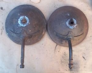 1915 1918 Model T Ford Headlight Buckets Original Roadster Touring Patent Date