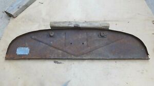 1928 1929 Model A Ford Upper Firewall Panel On Gas Tank Original