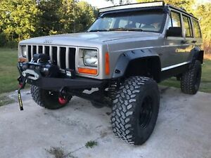 Front Winch Steel Custom Bumper Jeep Cherokee Xj Mj Rocker Ff