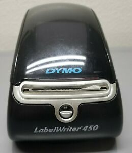 Dymo Labelwriter 450 Turbo Thermal Label Printer 1750110 Tested No Power Supply
