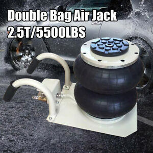 5500lbs Double Bag Air Jack 2 5 Ton Lift Jack Pneumatic Jack Air Bag Jack 11 8
