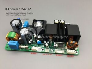 Icepower Power Amplifier Board Ice125asx2 120wx2 Dual Channel Audio Amp Module
