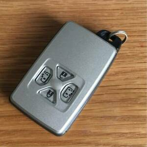 Toyota Smart Key Estima Alphard Vellfire Noah 4 Button Japan Import