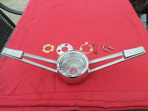 1961 Chevrolet Bel Air Bubble Top Sedan Hardtop Station Wagon Horn Ring 61 nice