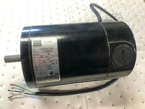 New Bodine Electric 1 4 Hp Small Dc Motor Type 42a5bepm 1 8a 130v 2500rpm