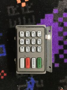 Used Nautilus Hyosung Atm Machine Keypad 6000k part 7128010001