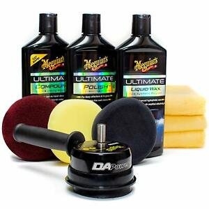 Meguiar S G55107 Dual Action Power System Car Professional Results Polish Kit