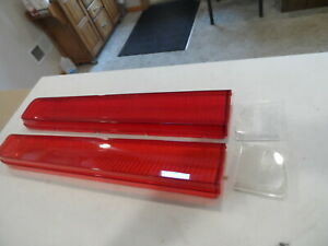 1969 1970 69 Mercury Cougar Eliminator Xr 7 Tail Lamp Light Lens Taillamp Set