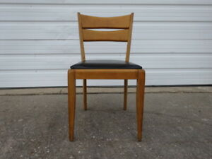 Vtg Mid Century Modern 1950s Heywood Wakefield M151a Cat S Eye Side Dining Chair
