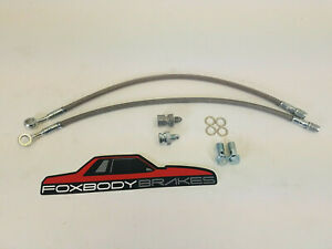 1994 2004 Front Mustang Saleen Alcon Front Hose Kit