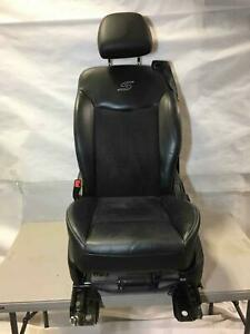 2013 Chrysler 200 S Convertible Driver Black Bucket Seat X9 Small Rip See Pic