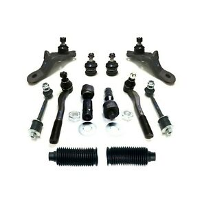 12 New Pc Suspension Kit For Toyota 4runner 1996 2002 Tie Rod Ends Ball Joints