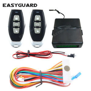 Easyguard Car Keyless Entry System Remote Lock Unlock Central Door Trunk Release