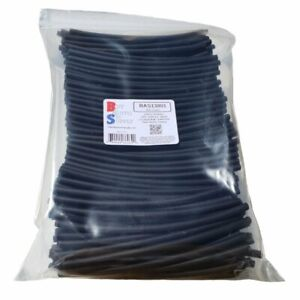 3 1 Heat Shrink Tubing 3 16 Black Adhesive Lined Dual Wall 150ft 300x 6 Pcs