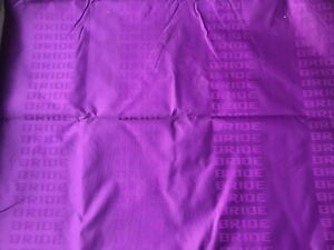 Jdm Purple Bride Fabric Seat Cloth Racing Seats Cover Interior Cloth 1m 1 6m