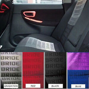 1m 1 6m Jdm Gradation Bride Fabric Seat Cloth Racing Seats Cover Interior Cloth