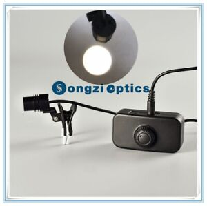 Adjustable Brightness Clip Surgical Dental Led Headlight With Light Spot