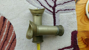 Voice Pipe Mouthpiece Nickel Salvaged From Wreck 2 Available