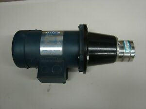 Tuthill Model Txs7 9pppt3wn3500 Pump Magnetically Coupled Leeson 1 2 Hp Motor