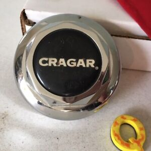 Cragar Custom Wheel Center Cap Chrome Alloy Finish 3 1 4 Diameter