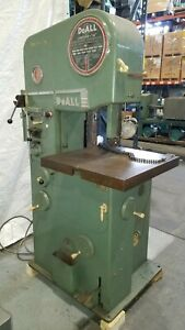 Doall 16 band Saw Bandsaw With No 16 2 With Welder Table Feed