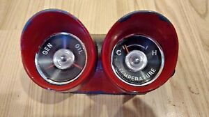 1959 60 Vintage Chevrolet Generator Oil Light Temperature Gauge