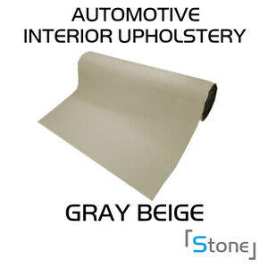 36 X60 Headliner Fabric Material Upholstery Foam Backed Auto Ceiling Grey Beige