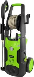 Greenworks 2000 Psi 13 Amp 1 2 Gpm Pressure Washer With Hose Reel Gpw2002