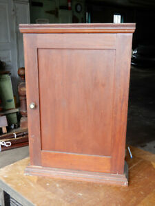 Antique Wooden Arts And Crafts Bathroom Kitchen Wall Cabinet