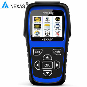 Nexas Nexdiag Nd601 Bmw Mini Multi System Diagnostic Scanner Abs Srs Dpf Oil