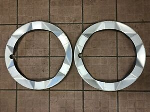 2004 09 Toyota Prius Hybrid Set Of 2 Wheel Hub Cap Hubcap Trim Ring Covers Cover