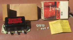 Nos Autolite 1946 1956 Chevrolet Buick Pontiac Gmc Ihc Truck Voltage Regulator