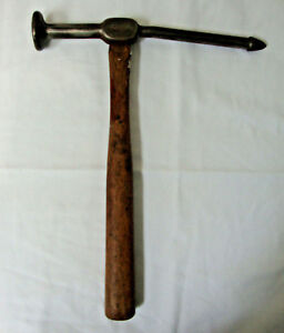 Vintage Bonney Auto Body Hammer Long Bumping Hammer 9 1 2 Long Head