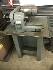 Hardinge Speed Lathe With Collet Closure 3 Phase