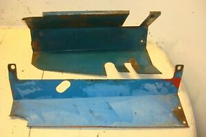 Ford 6000 Tractor Heat Shields
