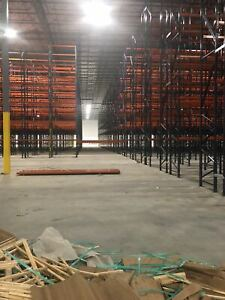 Warehouse Pallet Racks Heavy Weight Capacity Teardrop System interlake