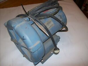 Eg G Rotron Dr404al58 Regenerative Blower 1 Hp 115 230 Vac 20 Ft Chord