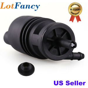 Windshield Washer Pump For Bmw E46 E38 E39 E60 E65 E53 X5 Z4 M3 325i W Grommet