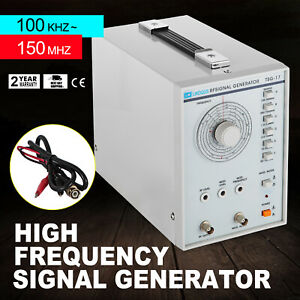 Radio High Frequency Rf Signal Generator 100 Khz 150 Mhz Power Cord Kit Usa